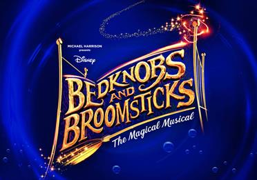 Bedknobs and broomsticks musical at palace theatre, Manchester