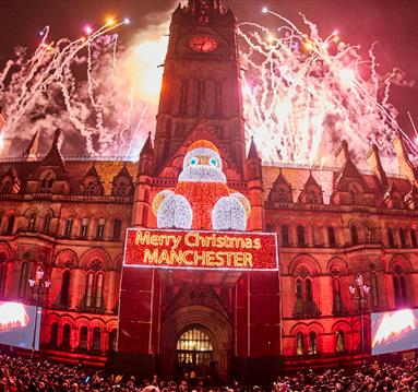 Manchester Christmas Lights Switch On