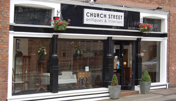 Church Street Antiques shop front