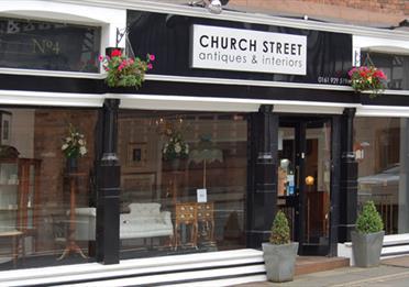 Church Street Antiques shop front