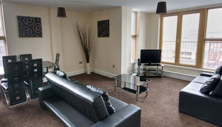 City Warehouse Apartment Manchester