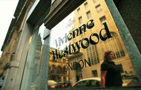 The Vivienne Westwood sign