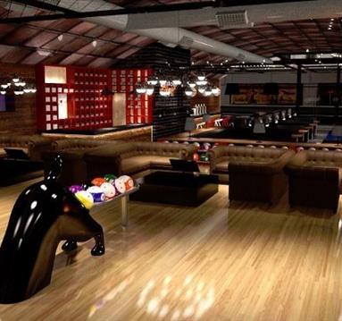 Black dog Ballroom - Dog Bowl