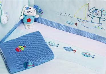 Boys nursery linens