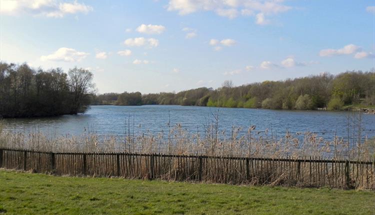 Chorlton Water Park lake