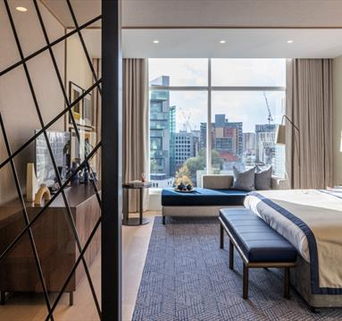 The Lowry Hotel Bedroom