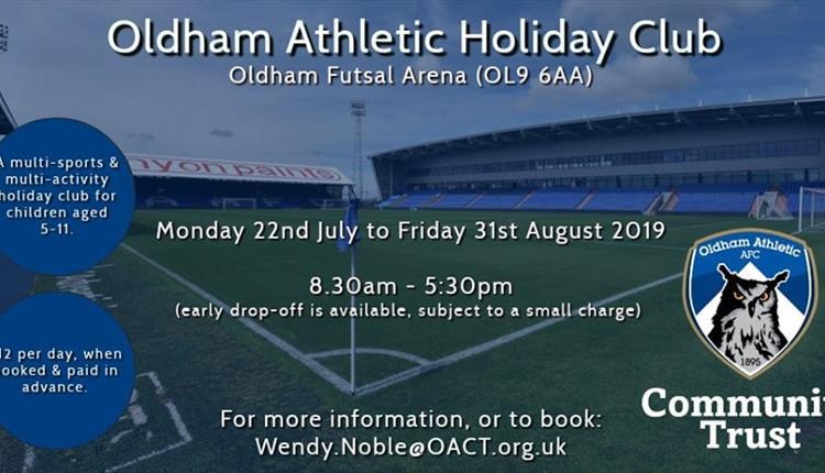 Oldham Athletic Summer Holiday Club