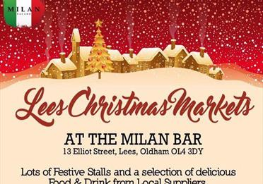 Lees Christmas Markets and Lights Switch On