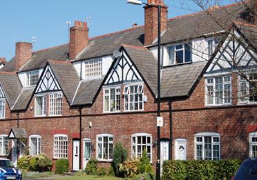 Linotype Estate houses
