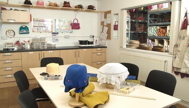 The Parkin Academy Millnery Workroom