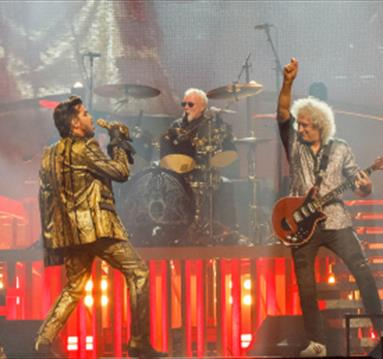 Queen with Adam Lambert at Manchester Arena