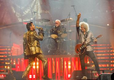 Queen with Adam Lambert at Manchester Arena