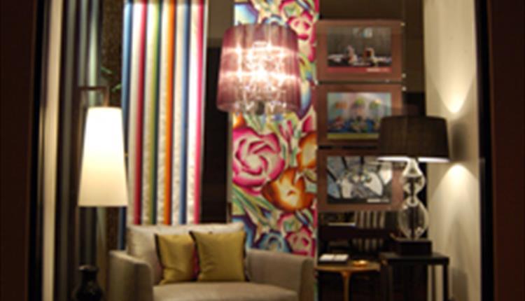 Rosi interiors window display