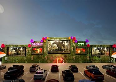 Secret city drive in cinema manchester