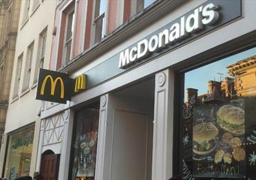 McDonalds St Anns Square