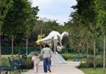 Sculpture in Close Park