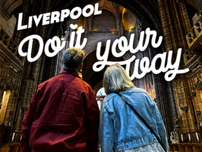 Barbara and Mike in the Liverpool Cathedral