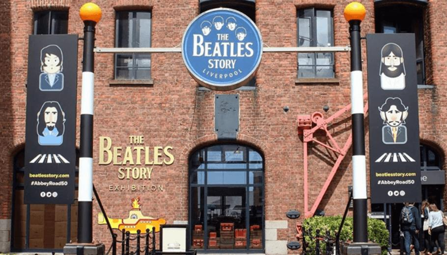 The exterior of The Beatles Story