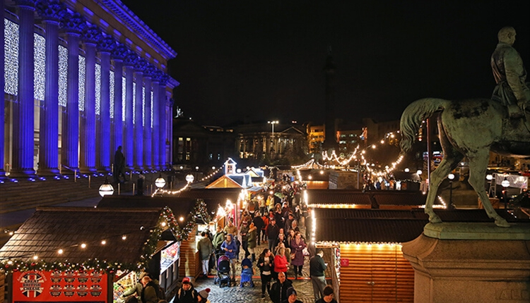 Nothing feels more festive than spending an evening at Liverpool's Christmas Markets