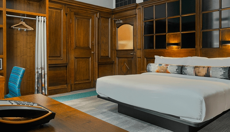Aloft hotel features ultra-comfortable platform beds