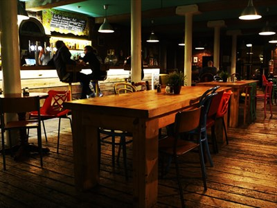 Baltic Social in the heart of the Baltic Triangle.