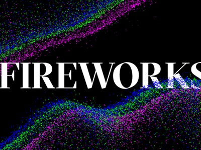 Fireworks, promotional graphic. River of Light 2019