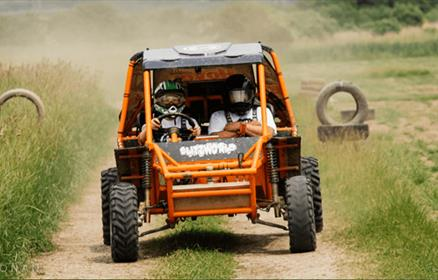Buggies at Hover Force in Cheshire
