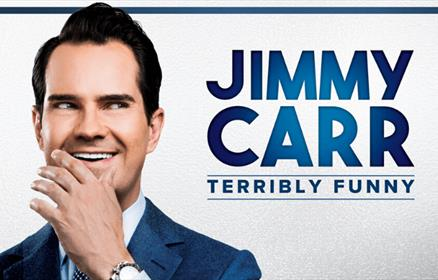 Jimmy Carr - Terribly Funny Tour Artwork