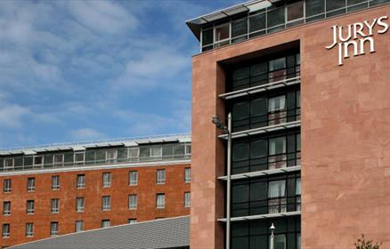 Jurys Inn Liverpool is located at Kings Dock.
