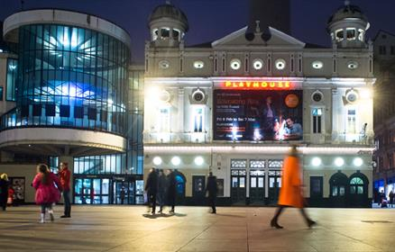 The Playhouse theatre exterior