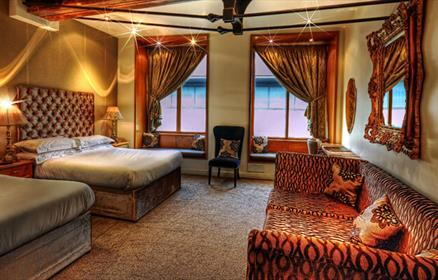 The original party hotel featuring stylish rooms with iPod docking stations, flat-screen LCD TV and free movies