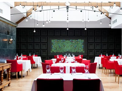 The Art School restaurant is an intimate 50-cover restaurant
