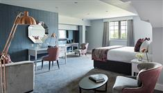 Bedrooms at Formby Hall