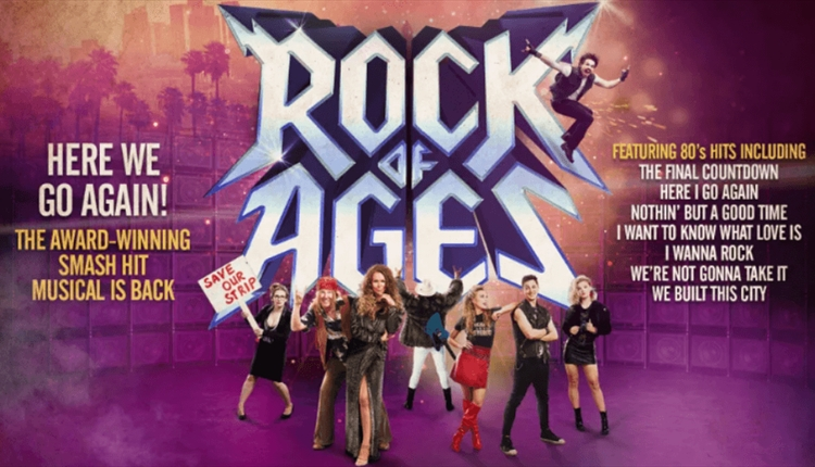 Rock of ages poster.