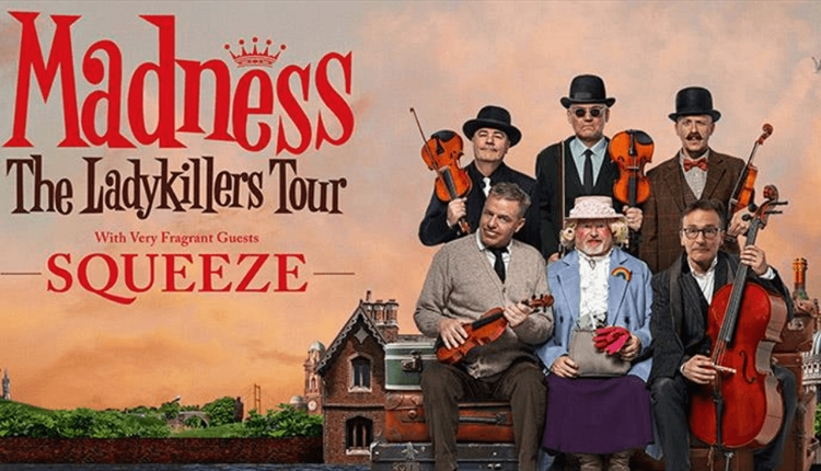 Madness tour poster.