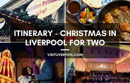 ITINERARY - Christmas in Liverpool For Two