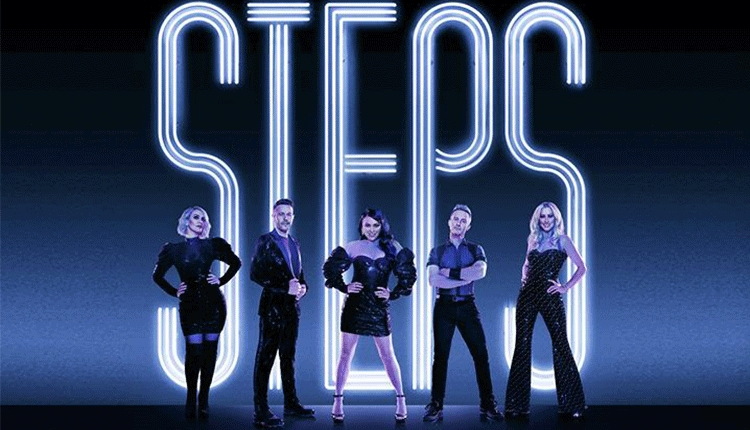 Steps touring poster featuring the five members