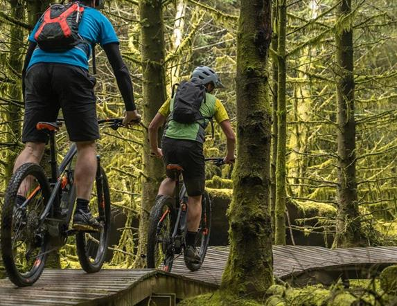 Electric Mountain Biking on the Rostrevor Red Trail – Bike Mourne