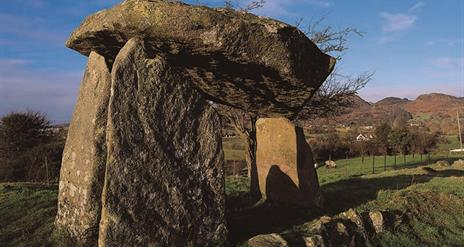 Ballykeel Portal Tomb (Dolmen)