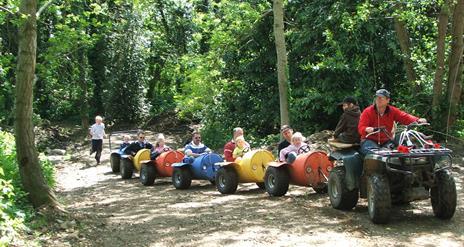 Funny Farm Adventures Maize Maze
