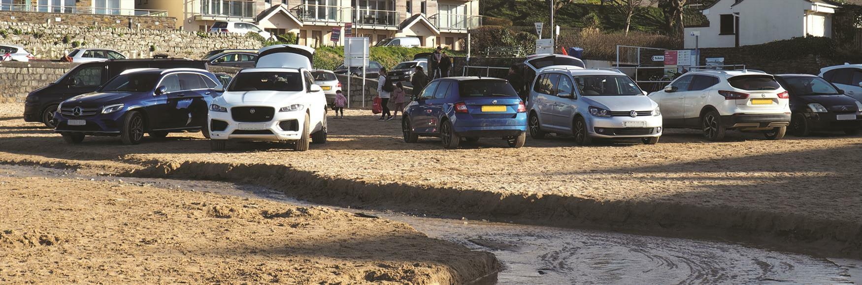 Porth Beach Car Park