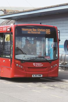 Newquay Bus Station |