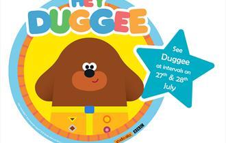 Meet Hey Duggee at Camel Creek Adventure Park