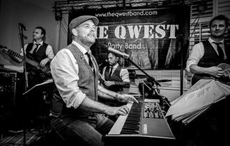Halloween Party with The Qwest at The Cornishman