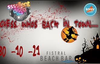 Halloween Silent Disco at Fistral Beach bar