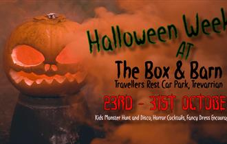 Halloween at The Box and Barn
