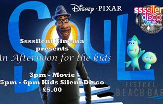 Sssilent Cinema Family Afternoon at Fistral Beach Bar