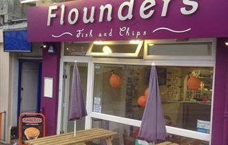 Flounders Fish and Chips