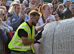 The 2022 Crantock Bale Push - One of Cornwall's Craziest Fund-Raising Events!