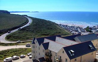 Beachcombers Apartments, Watergate Bay, Cornwall